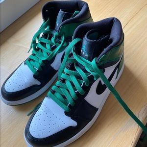 Air Jordan 1 Retro High Boston Celtics 2009